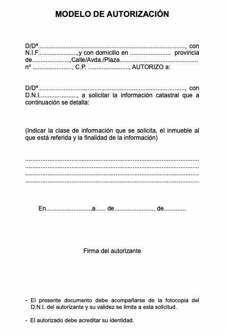 modelo autorización